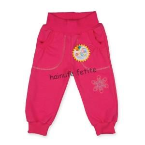 Pantaloni trening,roz inchis