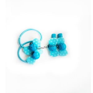 Set accesorii par buburuza,bleu