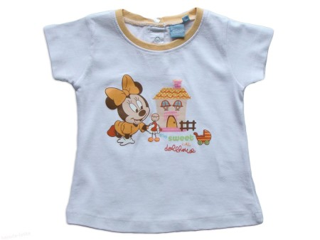Tricou-Minnie-s-dollhause,alb