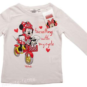 Bluza alba Minnie Mouse,my cycle