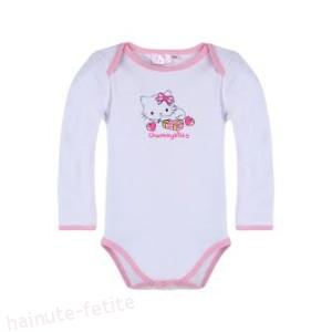 Body Charmmy Kitty,alb-fuchsia