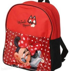 Ghiozdan Minnie Mouse,rosu