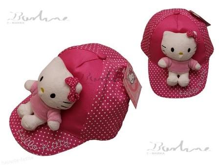 Sapca cu mascota Hello Kitty,roz