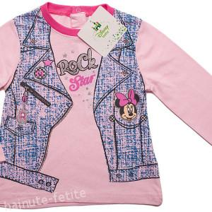 Bluza Minnie Mouse rock star,roz