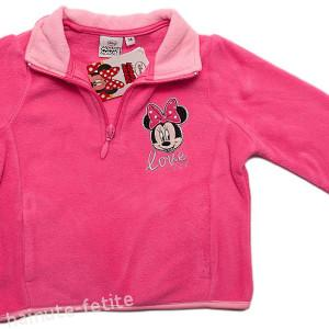 Bluza polar Minnie Mouse,fuchsia