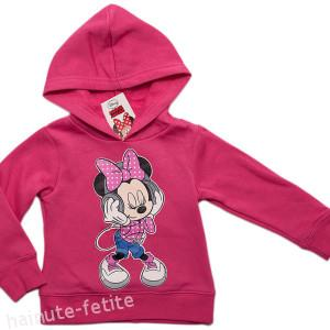 Hanorac Minnie Mouse music,fuchsia