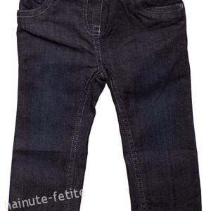 Pantaloni blugi vatuiti,bleumarin
