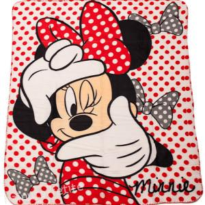 Patura fleece Minnie Mouse