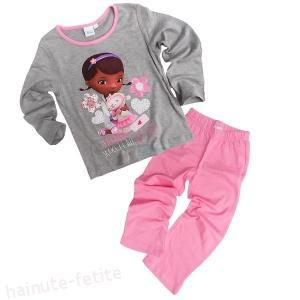 Pijama Dr Plusica,gri-roz