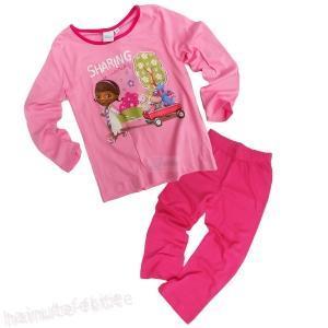 Pijama Dr Plusica,roz-fuchsia