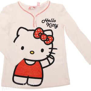Bluza Hello Kitty,crem
