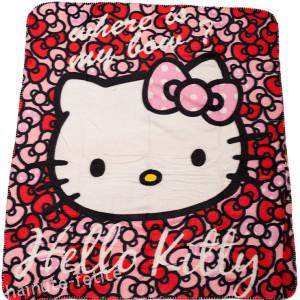 Patura fleece Hello Kitty