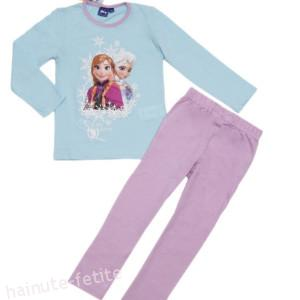 Pijama Frozen bleu-lila