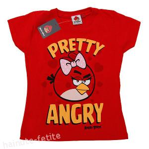 Tricou Little Angry Bird,rosu