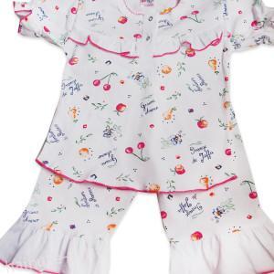 Pijama vara, fructe-3 ani