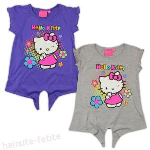 Tricou Hello Kitty s flowers