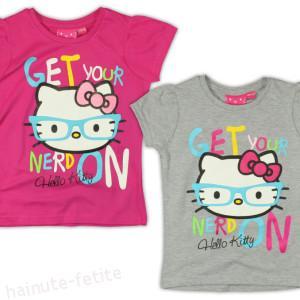 Tricou Hello Kitty s glasses