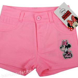 Pantaloni scurti Minnie Mouse,roz