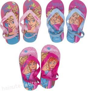Papuci de plaja Frozen