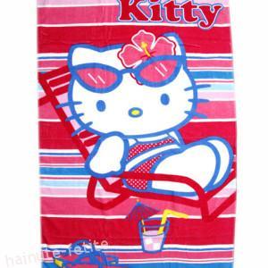 Prosop de plaja Hello Kitty