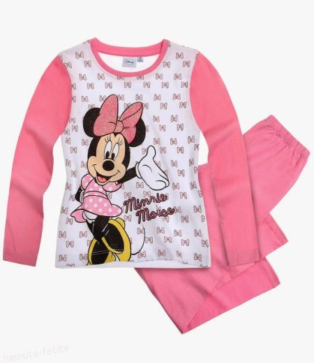 Pijama Minnie Mouse fundite
