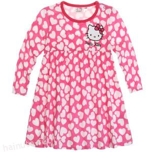Rochie bebe Hello Kitty hearts