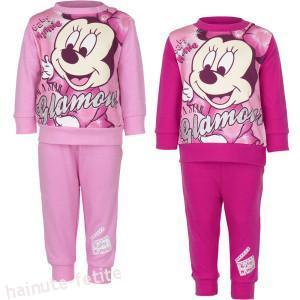 Pijama bebe Minnie Mouse glamour