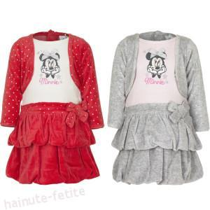 Rochie catifea Minnie Mouse