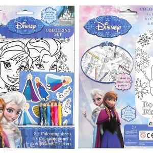 Set de colorat Frozen