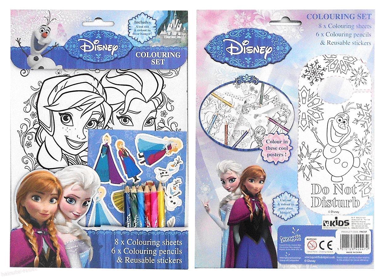 Set De Colorat Frozen Haine Fetite