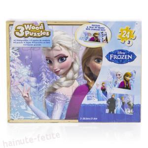 Puzzle lemn frozen