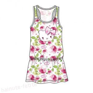 Rochie hello kitty flowers