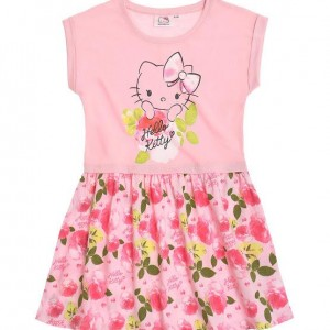 Rochie hello kitty roses