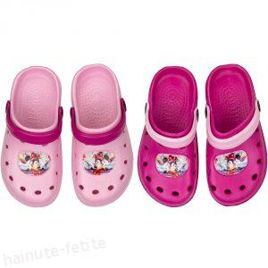 Papuci crocs minnie mouse