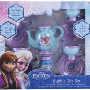 Set de ceai cu baloane de sapun frozen