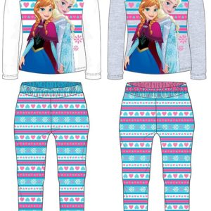 Pijama frozen sisters hearts