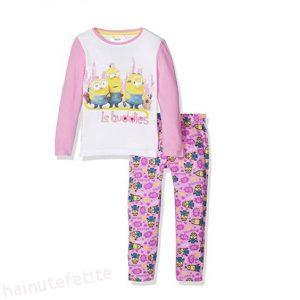 pijama minioni roz