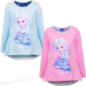 Bluziță Elsa Frozen cu Mânecă Lungă